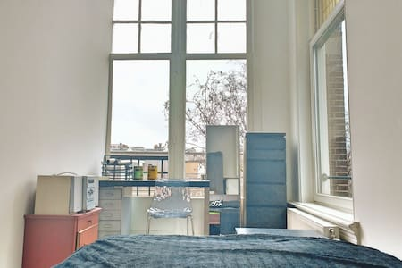 Bright Room in Newly-Renovated Apartment - Amsterdam - Wohnung