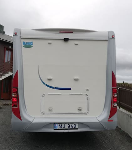 Faroe Camper 2 - Probably the best way to explore!