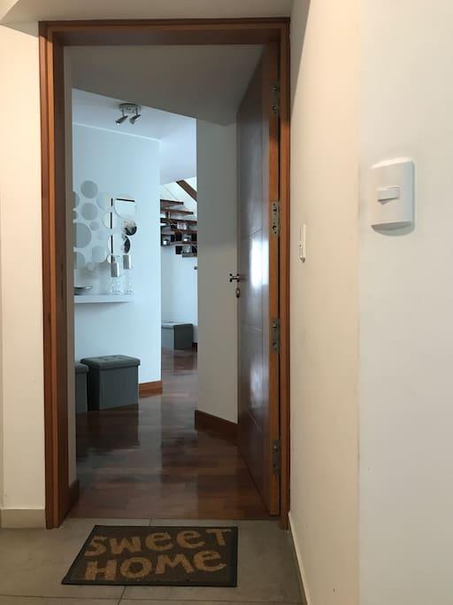 Apartment main door (4th floor)