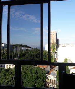 Catete! Vista e em frente ao Metrô! - Rio de Janeiro - Apartment