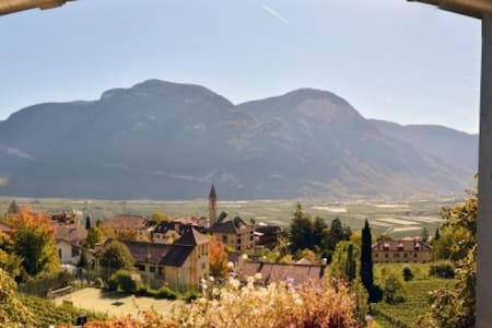Room with balcony with beautiful views - Redagno di Sotto