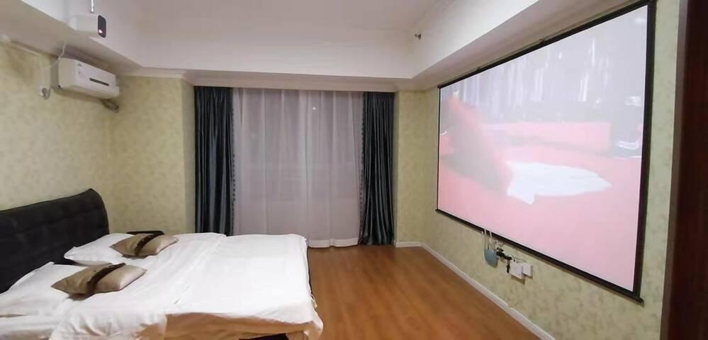 万达马里奥公寓豪华私人影院