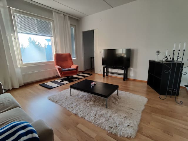 Modern, spacious and cozy apartment with terrace