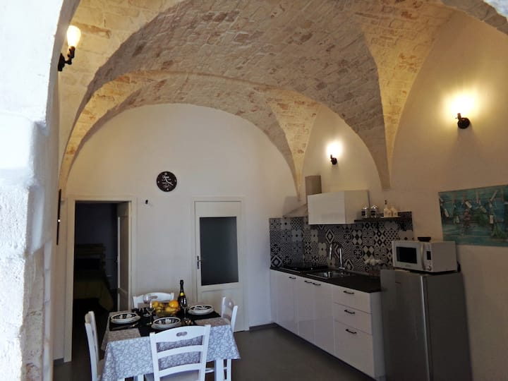 """le tre volte"" historic center,Wi-Fi,two bedrooms"