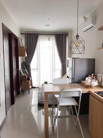 Vanya Park, BSD (2BR - Cozy Apartment + WIFI)
