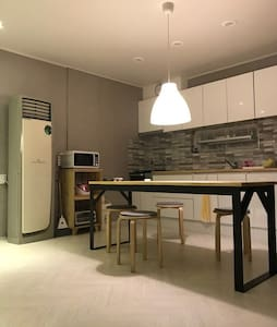 Cozy roof top, very close to bosan station. R3
