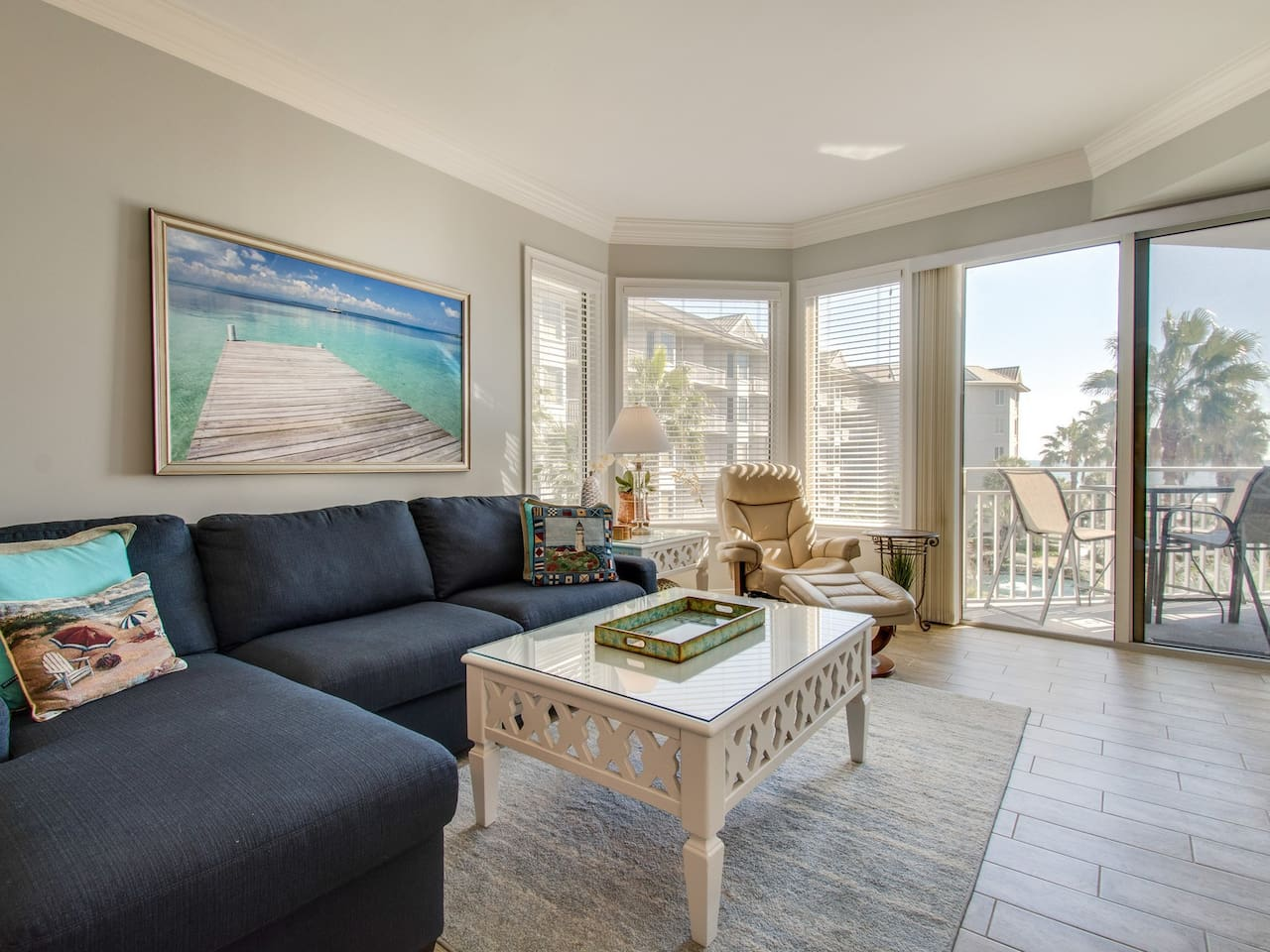 Beautifully Updated Villa with New Furniture and Private Balcony with Ocean Views at 1302 SeaCrest
