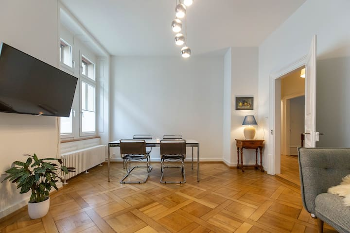 Beautiful apartment right next to Messe Basel