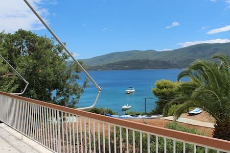 House with balconies, great sea view  (244240)