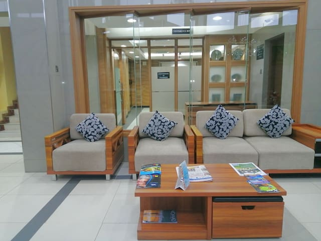 We hotel suites at the prime heart of westlands