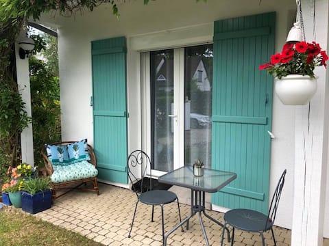 Chambre/kitchenette/SDB  privative +terrasse