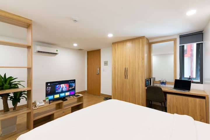 Deluxe Double Room at Giti Apartment