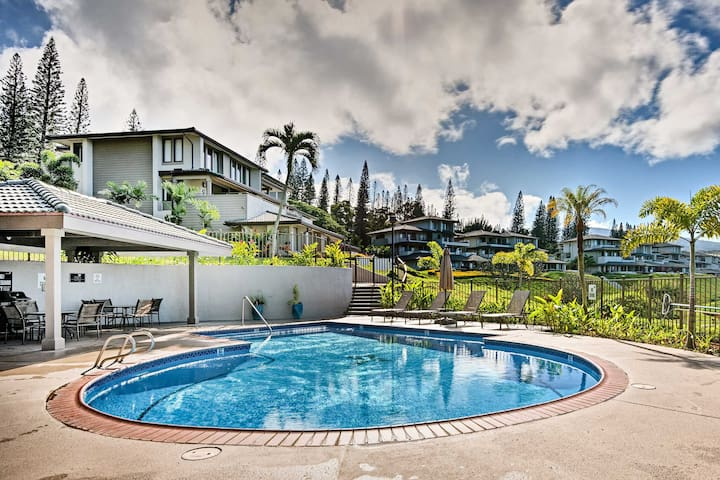 Kapalua Golf Villa: Ocean View Lanai & Pool Access