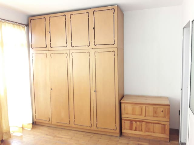 Wardrobes in the bedroom