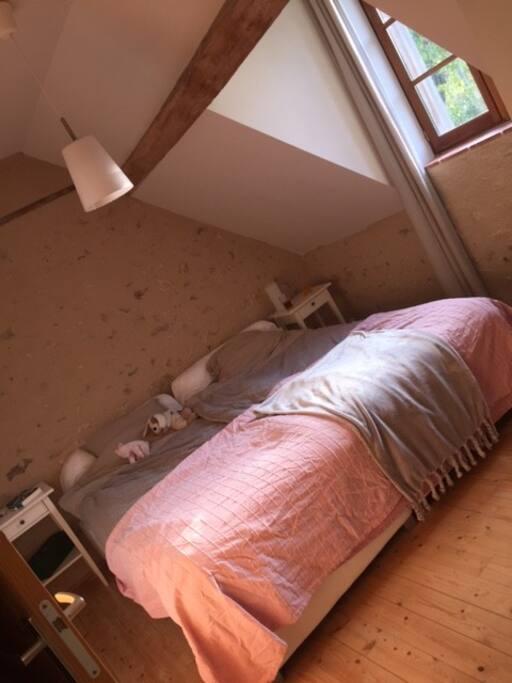 Slaapkamer (een van de vier)
