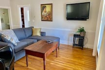 Living Room - Smart TV, basic cable, double fold out sofa