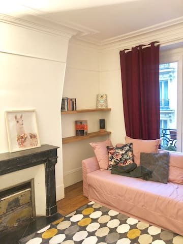 All furnished, PALAIS DES CONGRES élégant flat