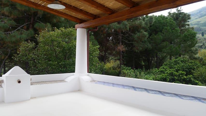TPanorama dal terrazzo (vista montagna 2)