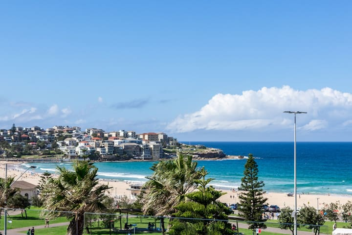 Bondi beachfront 1BR with amazing view + carpark
