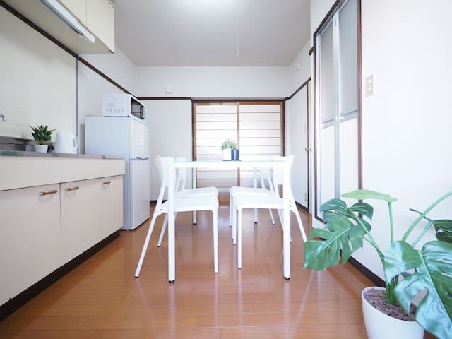 3min to Beppu station + Free parking & Mobile Wifi - Beppu - Appartement