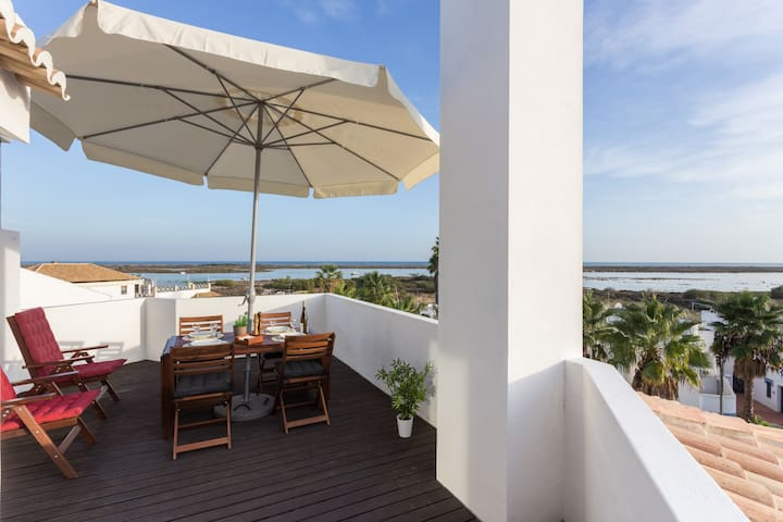 Unique Studio With The Most Beautiful Sea View - Tavira - Departamento