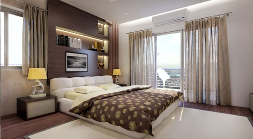 Siddha Galaxia luxurious 3BHK near Kolkata airport