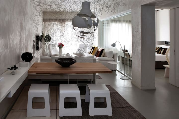 Athens Design apt close to museum - Athina - Daire