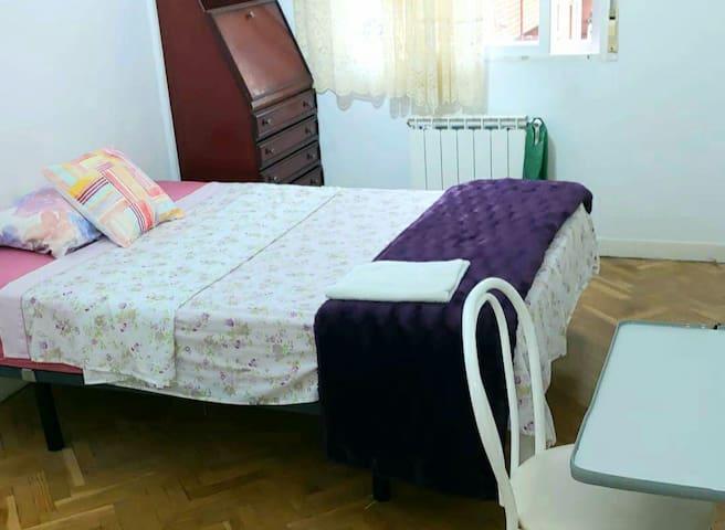 Comoda y espaciosa habitación!!