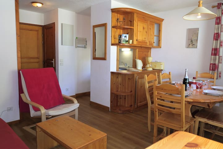 VAL D'ISERE  2 bedrooms flat for 6 people - Val-d'Isère