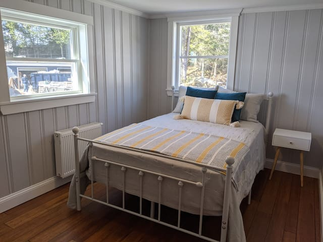 Lakeview bedroom with a full bed #3
