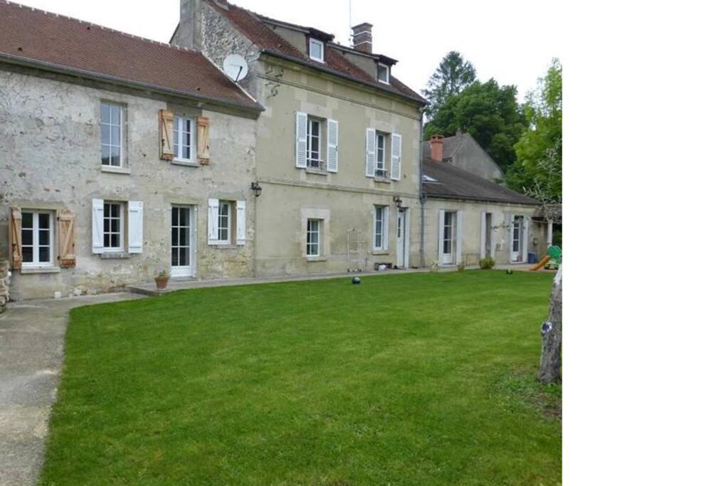 Maison ancienne au coeur du vexin maisons louer wy dit joli village l - Frais achat maison ancienne ...
