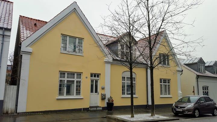 Byhus i Herning centrum