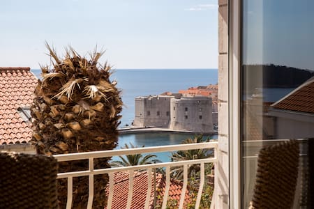 Centrally Located Studio With Sea and City View - Dubrovnik - Huoneisto