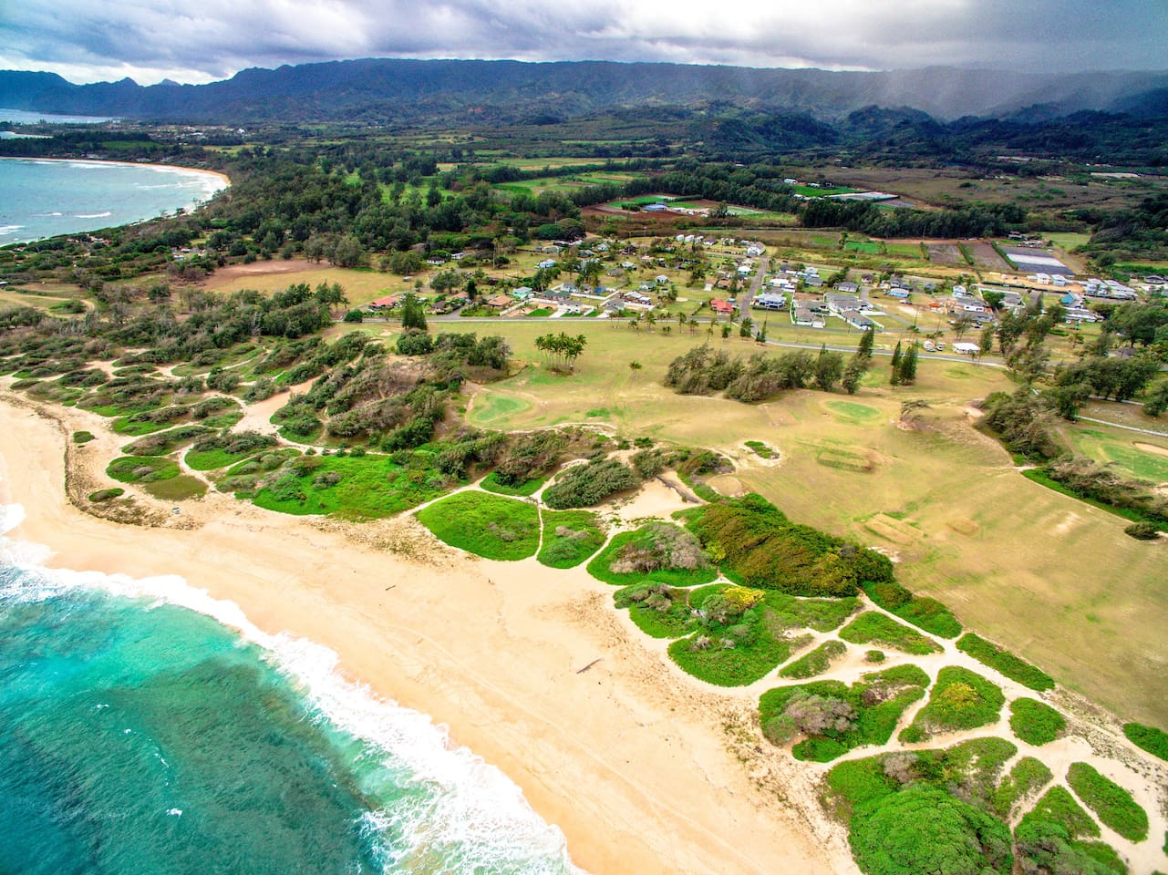Welcome to Kahuku! This home is within walking distance to this beautiful private beach.
