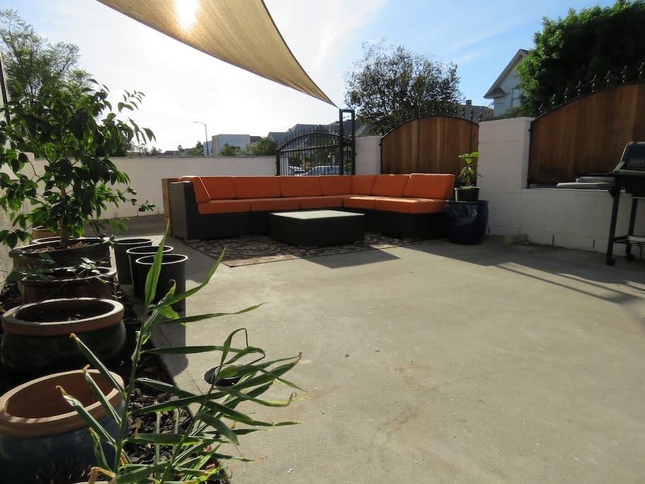 Outdoor Garden and Seating