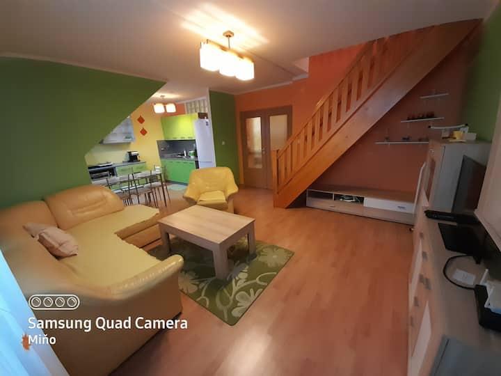 Nice 2 rooms duplex apartment in the center