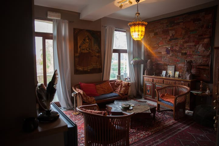 Romantic and stunning stay in front of the castle - Beloeil - Wohnung