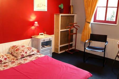 Chambre et SDB privées, calme de la campagne - Walincourt-Selvigny - Ev