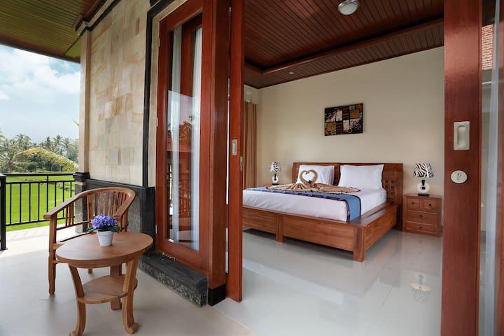 Ubud Private Pool Villa w/ Rice Paddy View #1BR