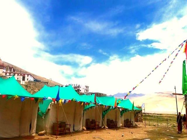 TIH The Norling Camp-Tsomoriri