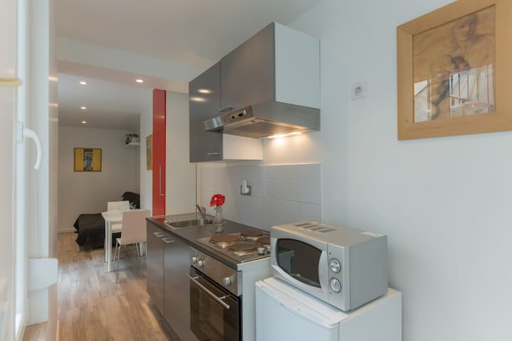Studio Nancy centre rue Stanislas avec wifi - Nancy - Apartamento
