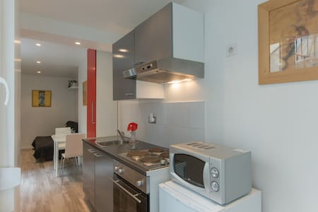 Studio Nancy centre rue Stanislas avec wifi - Nancy - Huoneisto