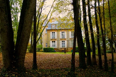 A beautiful castle, perfect for groups! - La Moncelle - Linna