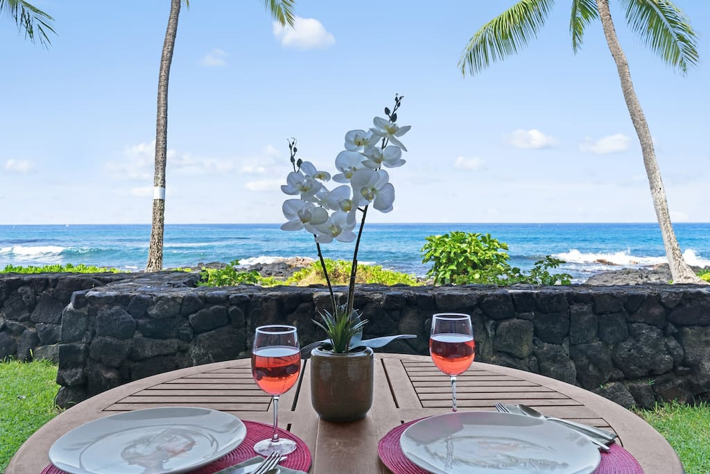 Sit on the lanai for hours  -- ENJOY!!