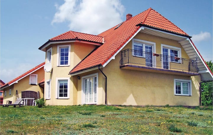 Awesome home in Kamien with WiFi and 4 Bedrooms