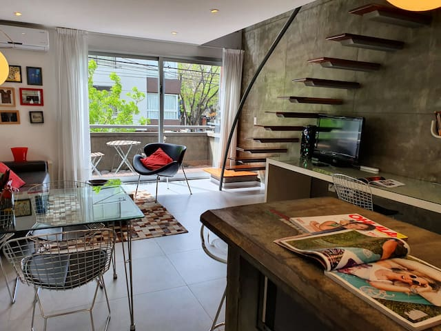 Quite & Chic, fully equipped, 2Bd, pool & terrace