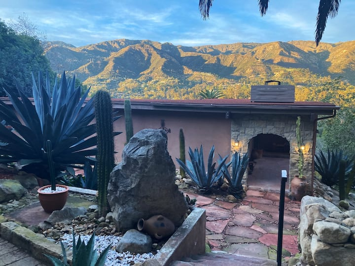 Montecito Magic with Mountain Views and a Pool!