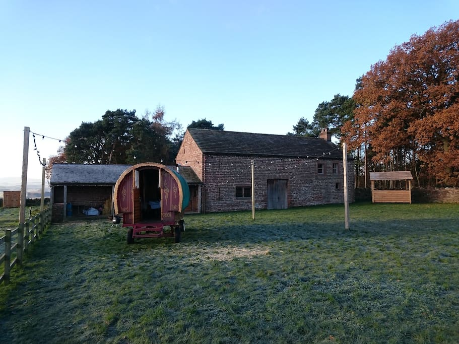 High Barn, the winter location for our Bowtop