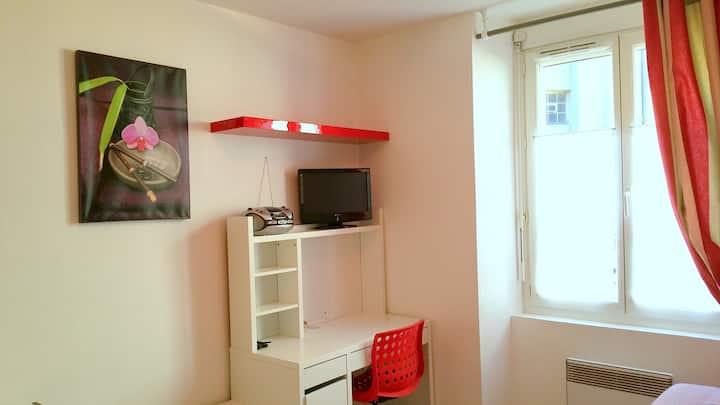 Coquet studio meublé calme n°104 garage