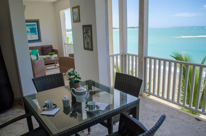 Luxurious Beachfront 3BR Apartment